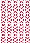 Alabama Flag Stickers - 65 per sheet